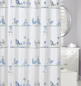Moda at Home A Duck's Life 'Eco' Shower Curtain, 71x71""