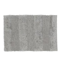 Moda at Home Cloud Cotton Rug/Bath Mat, Grey, 20x32""
