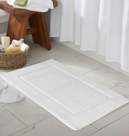 Moda at Home Prima Super Soft Cotton Rug/Bath Mat, Creme, 21x34""