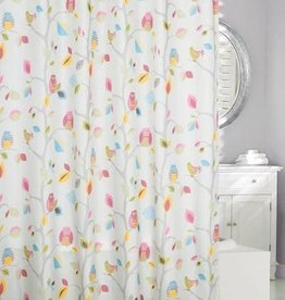 Moda at Home What A Hoot Shower Curtain, 71x71""