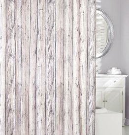 Moda at Home Oakwood Look Fabric Shower Curtain, 70x72""