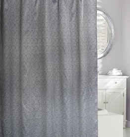 Moda at Home Moderno Texture Shower Curtain, 71x71""
