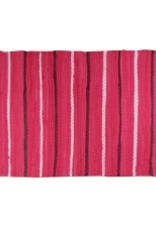 "Gajmoti of Canada Ltd. Chindi Rugs 20X34"" - Country Pink"