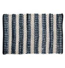 "Gajmoti of Canada Ltd. Chindi Rugs 24X36"" - Heavy Cotton, Heavy Denim"