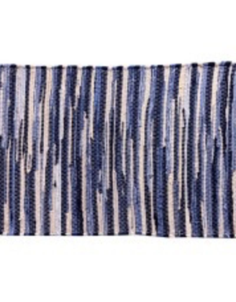 "Gajmoti of Canada Ltd. Chindi Cotton Floor Mat 24X36"" - Grey Assorted"