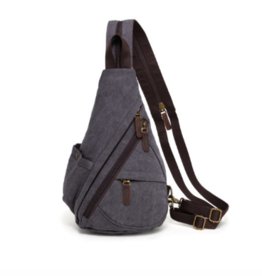 DaVan Versatile Sling Bag/Backpack Grey
