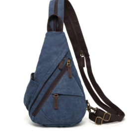 DaVan Versatile Sling Bag/Backpack, Blue