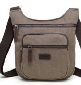 DaVan Lightweight Shoulder Bag, Brown