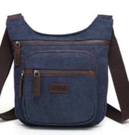 DaVan Lightweight Shoulder Bag, Blue