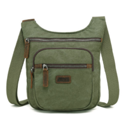 DaVan Lightweight Shoulder Bag, Dark Green