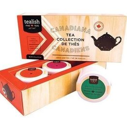 Tealish Tealish Canadiana Tea Sampler, Trio Set