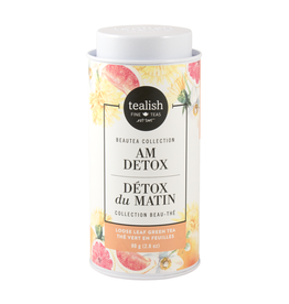 Tealish Tealish Beautea - AM Detox Loose Leaf Tea Tin, 80g/2.8oz