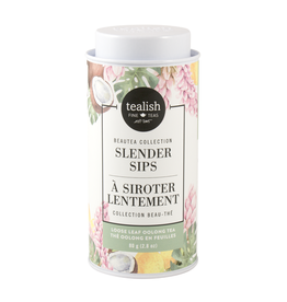 Tealish Tealish Beautea - Slender Sips Loose Leaf Tea Tin, 80g/2.8oz