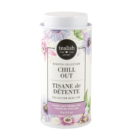 Tealish Tealish Beautea - Chill Out Loose Leaf tea Tin, 70g/2.5oz