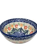 "Polish Pottery Cereal Bowl, 5.75""/15cm , Spring Morning"