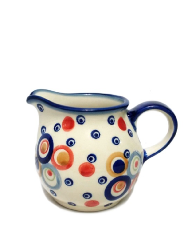 Polish Pottery 6oz Creamer, Modern