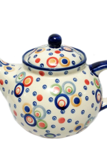Polish Pottery 1.25L Afternoon Teapot, Modern