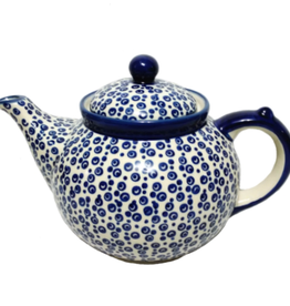 Polish Pottery 1.25L Afternoon Teapot, Bubbles