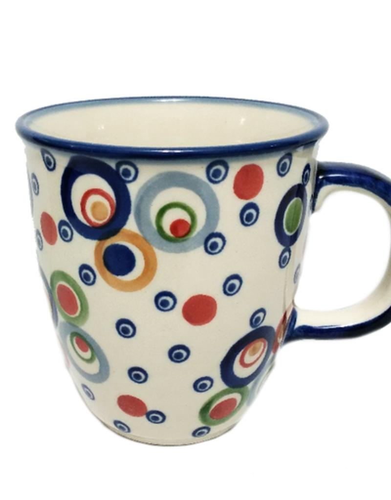 Polish Pottery 10oz Bistro Mug, Modern