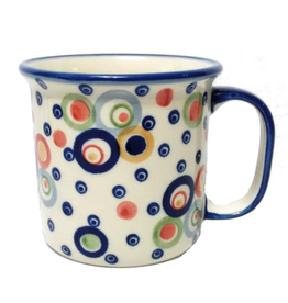 Polish Pottery 13oz Canadian Mug, Modern