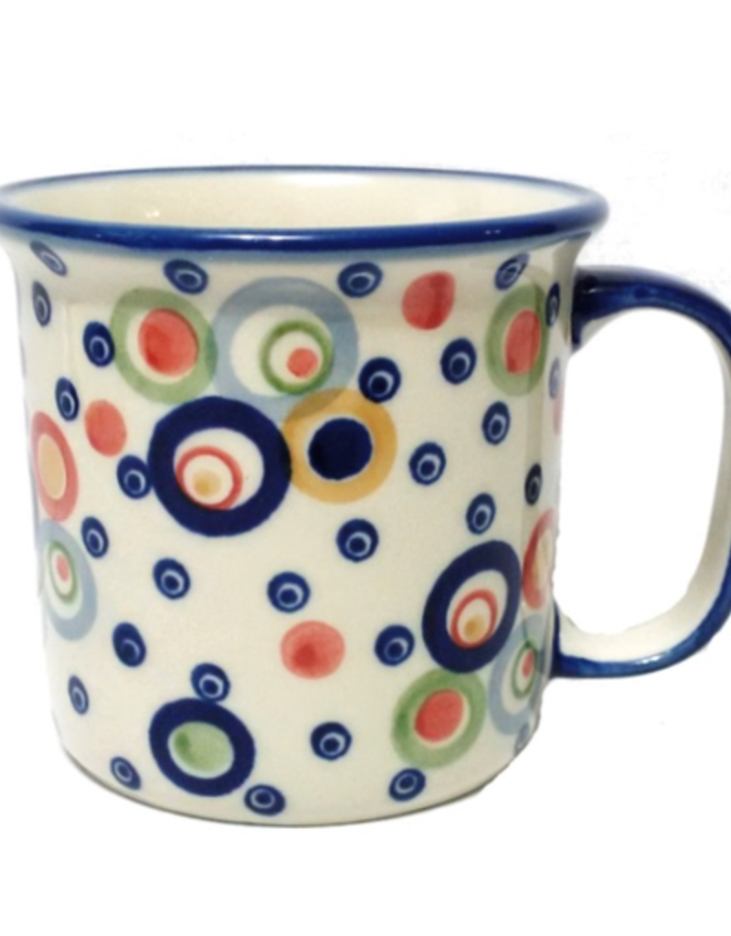 Polish Pottery 13oz Canadian Mug, Modern