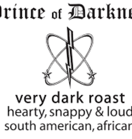 Oso Negro Prince of Darkness Whole Bean Coffee, 1 lb