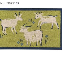 Now Designs Doormat, Goats