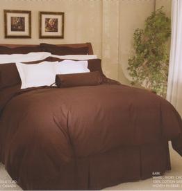 Cuddle-Down Bark Chocolate Sheet Set King