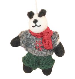 Hamro Ornament, Winter Papa Bear