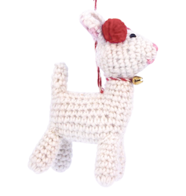 Hamro Ornament, Knit Rudolph