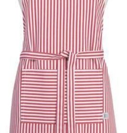 Now Designs Apron Chef, Narrrow Stripe, Red