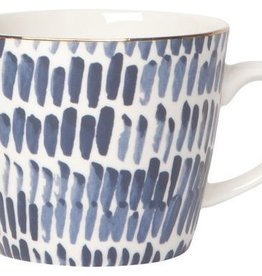 Now Designs 12oz Mug, Stamped Shibori Dash