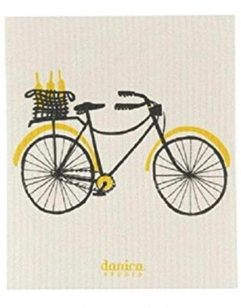 Danica Studio Swedish Dishcloth, Bicicletta