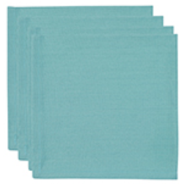 Now Designs Napkin Set/4 Renew Solid, Turquoise