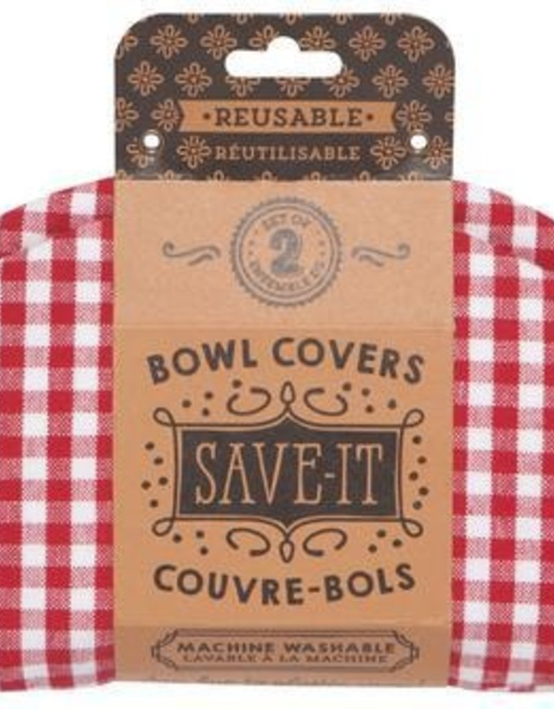 Now Designs Bowl Cover, Gingham S/2
