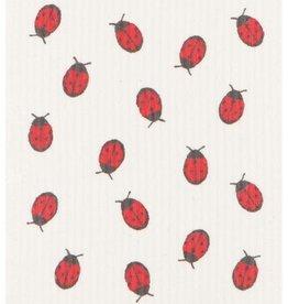 Now Designs Swedish Dishcloth, Fly Away Ladybug