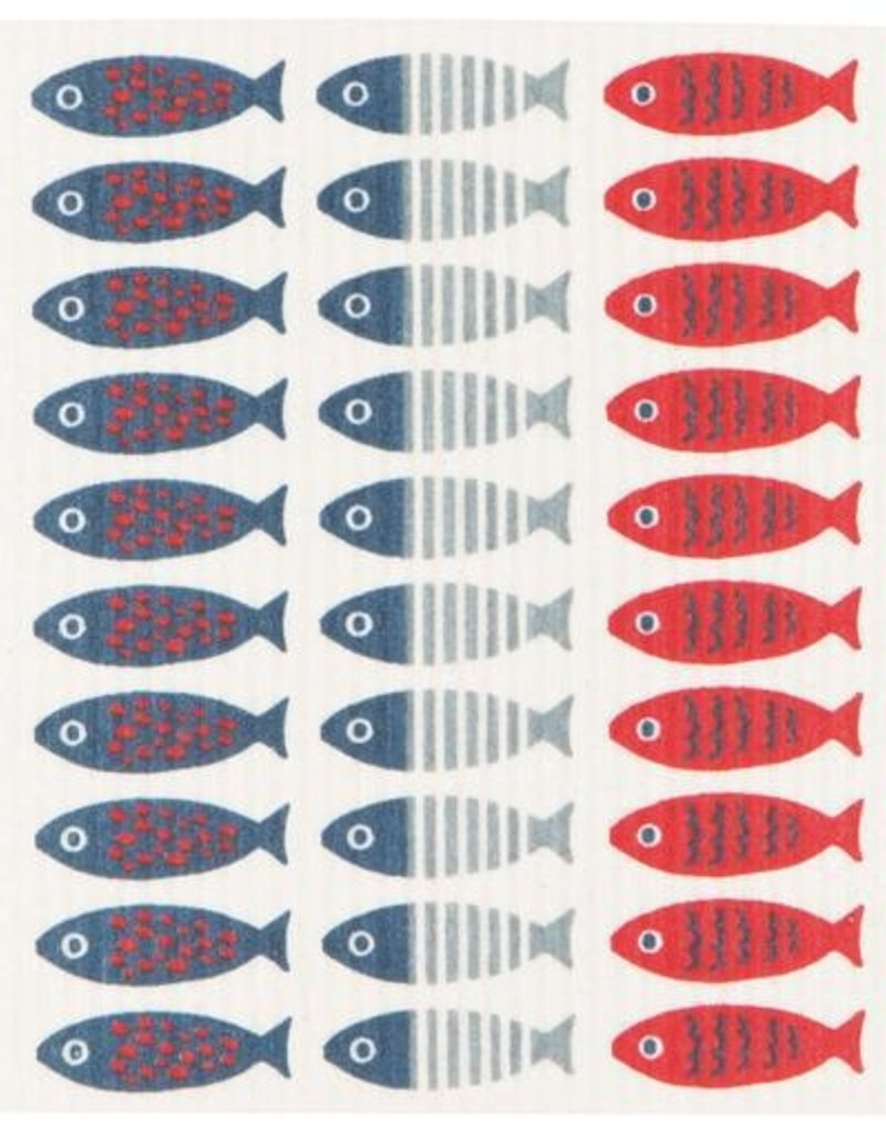 Now Designs Swedish Dishcloth, Little Fish