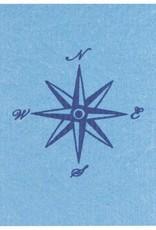 Now Designs Swedish Dishcloth, Compass