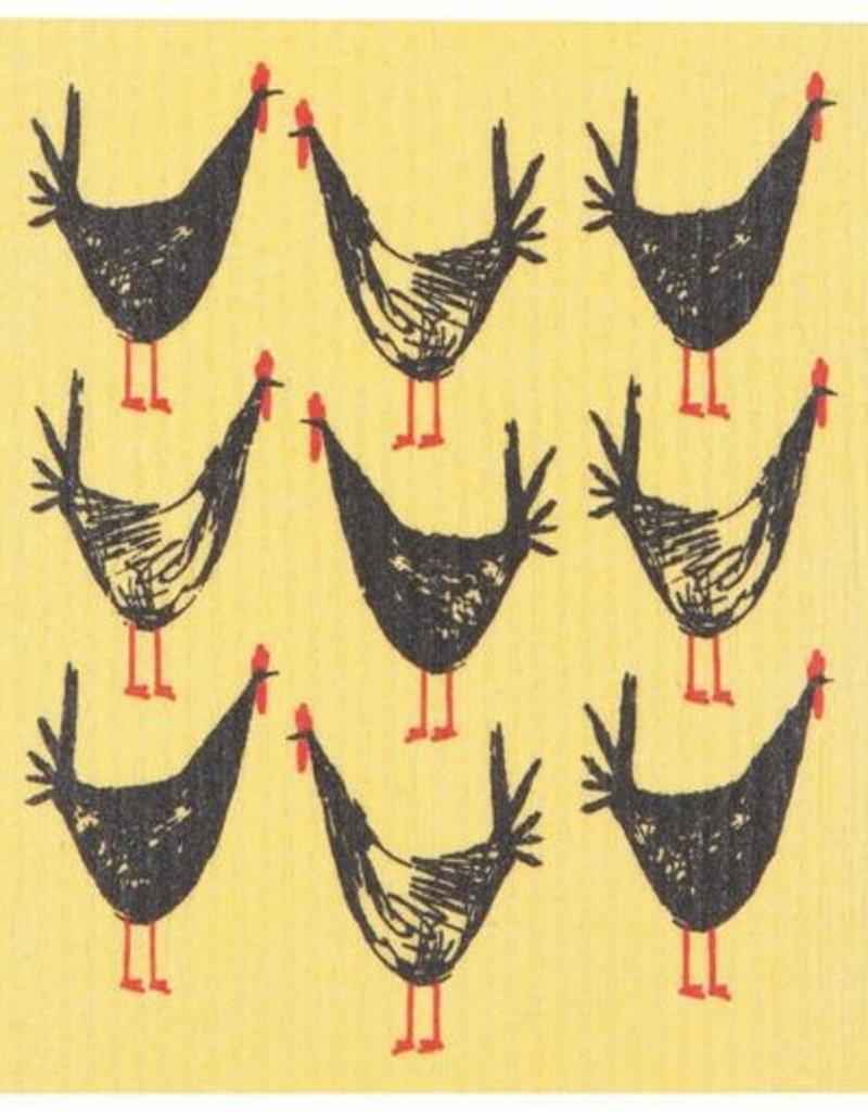 Now Designs Swedish Dishcloth, Chicken Scratch