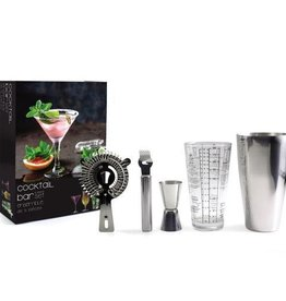 Danesco Cocktail Bar Gift Set, 5 pc