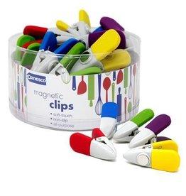 Danesco Magnetic Clips, All Purpose Asst'd Colours
