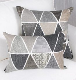 "Marie Dooley Matsu Throw Pillow/Cushion, 18x18""/46x46cm"
