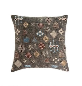 """Indaba Cairo Embroidered Pillow, 20x20"""""""