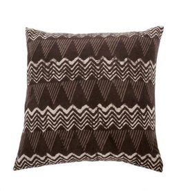 "Indaba Vegetable Dye Cushion, 20x20"""