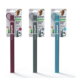 Fusionbrands FB GOOD CASE Straw Set (2 Straws, Brush, Case), Silicone - Asst'd Colours