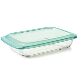 OXO Glass Baking Dish w/Lid, Rectangular 2.8L