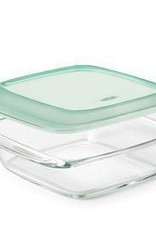 OXO Glass Baking Dish w/Lid, 1.9L Square 20x20cm