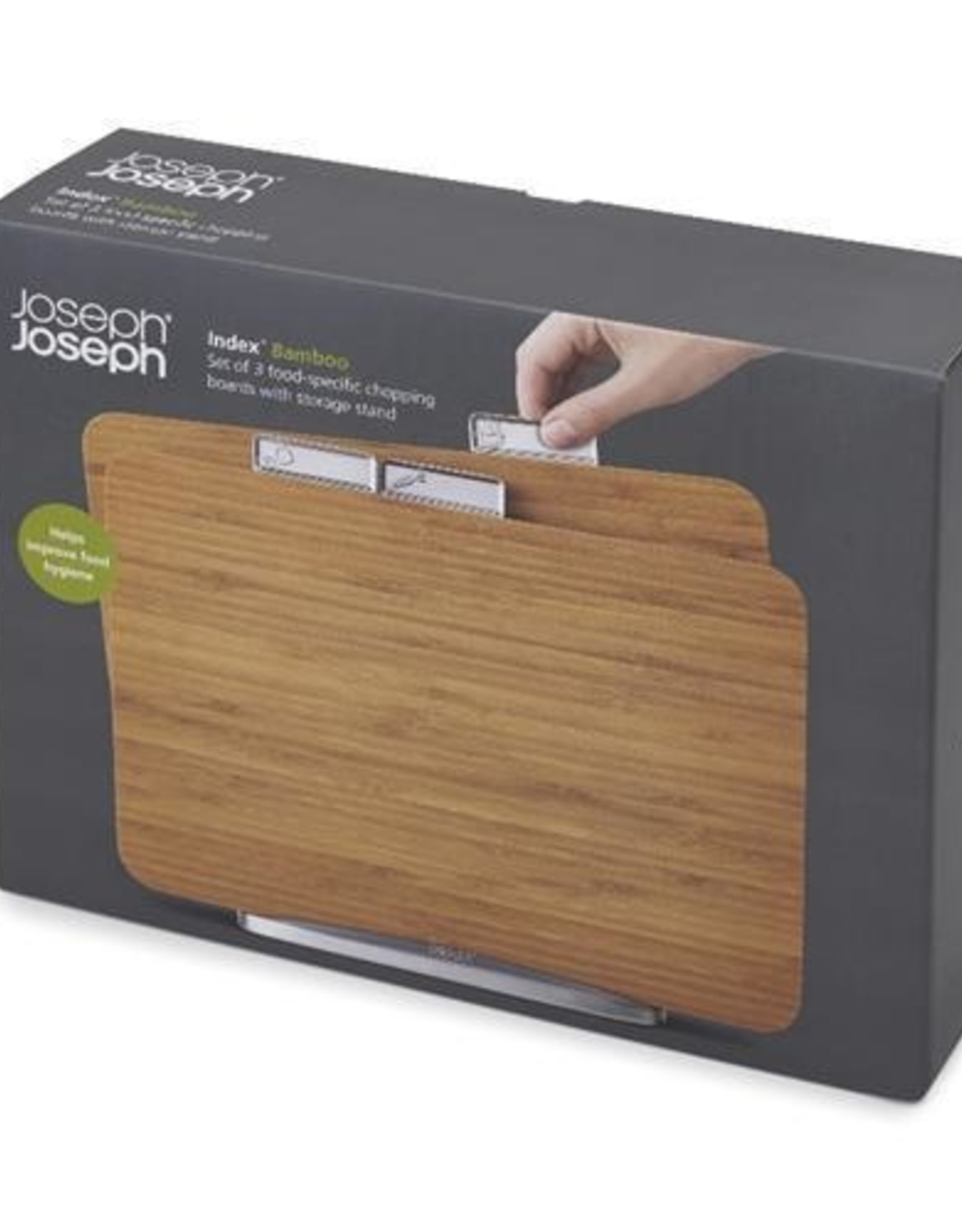 Joseph Joseph Index Bamboo Chopping Board Set
