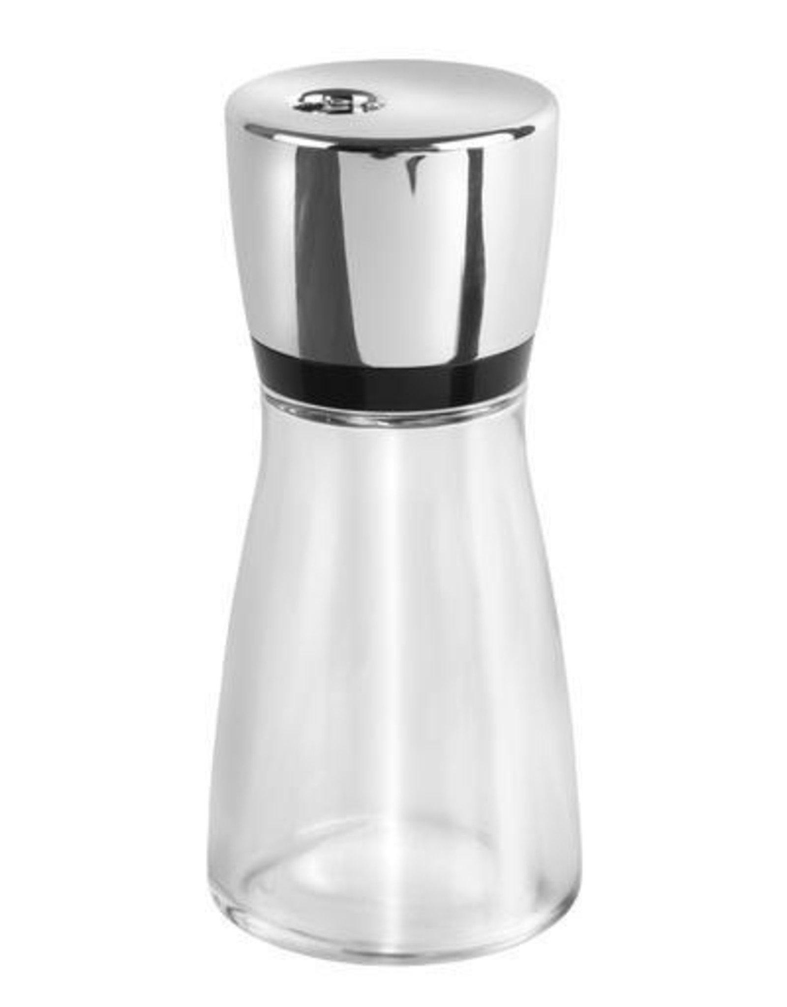 Cole & Mason Herb & Spice Jar, Glass & Chrome, 2.4oz
