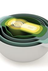 Joseph Joseph Opal Nest Set/9 Food Preparation Bowls/Cups/etc.